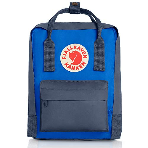 Fjällräven Unisex's Kanken Mini Backpack, Graphite/Uncle Blue, One Size