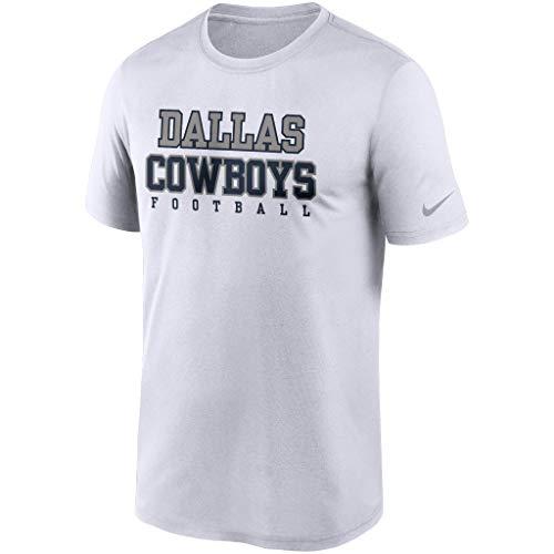 NFL Dallas Cowboys - Camiseta para hombre, talla M, color blanco