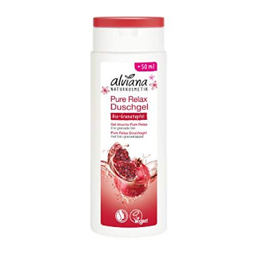 Alviana Pure Relax Duschgel mit Bio-Granatapfel, 250 ml