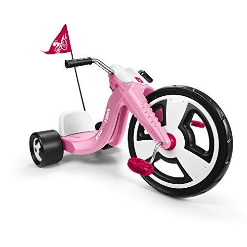 "Radio Flyer 479P, Big Flyer Sport, Chopper Tricycle, 16"" Front Wheel, Pink"