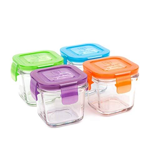 Wean Green GL428GP Cubes 4er set aus Glas - Garden Pack, 120 ml