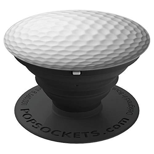 Einfacher Golfball Bild Klassischer Iconischer Golfball - PopSockets Ausziehbarer Sockel und Griff für Smartphones und Tablets