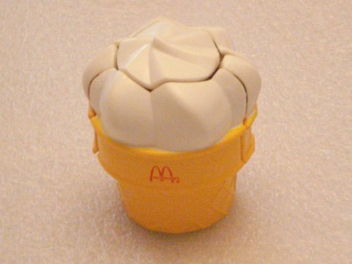 McDonalds Happy Meal New Food Changeables Set 3B - Turbo Cone - 1988