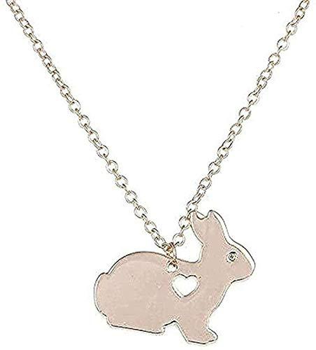 BEISUOSIBYW Co.,Ltd Collar Animal Collar Canasta de Pascua Colgante Mascota Colgante Joyas para Mujeres Hombres Regalos de Pascua