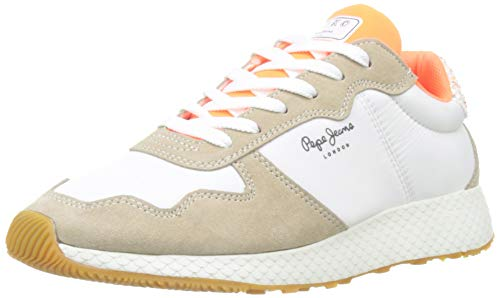 Pepe Jeans Koko Sweet, Zapatillas para Mujer, Blanco (803OFF White 803), 38 EU