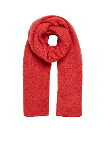 Vila Long style scarf VITOBI by Clothes (One Size - Red)