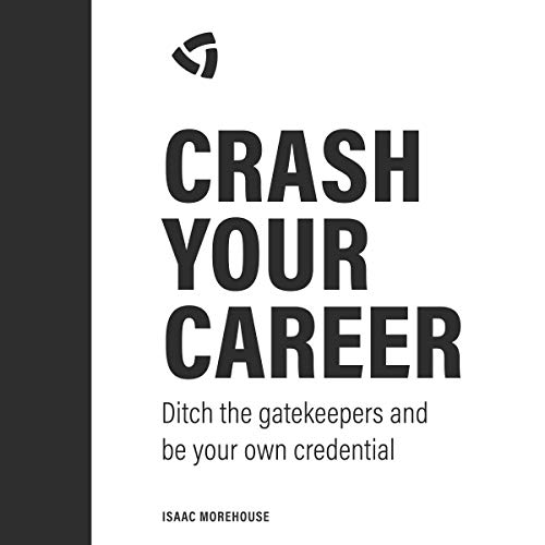 Crash Your Career audiobook cover art