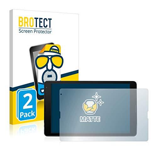 BROTECT 2X Entspiegelungs-Schutzfolie kompatibel mit Medion Lifetab E10420 Bildschirmschutz-Folie Matt, Anti-Reflex, Anti-Fingerprint