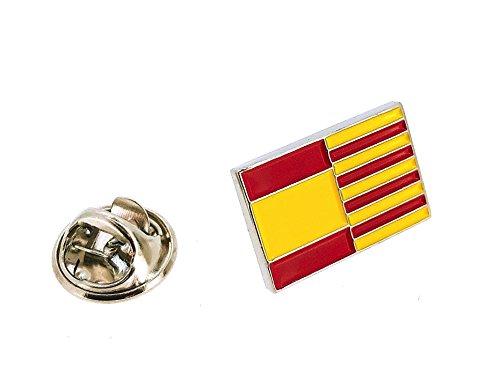 Gemelolandia   Pin de solapa de la Bandera Cataluña y España   Pines Originales y Baratos Para Regalar   Para las Camisas, la Ropa o para tu Mochila   Detalles Divertidos