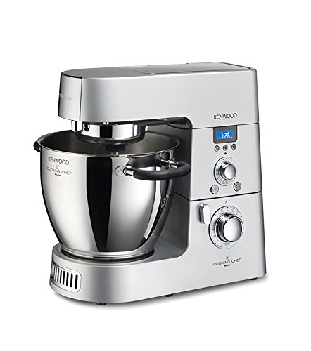 Kenwood KM096 Cooking Chef Impastatrice Planetaria, con Frullatore e Food Processor, 1500 W,...