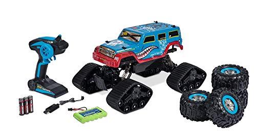 Carson 404155 1:10 Track Racer 2.4G 100% RTR, Ferngesteuertes Auto, RC Fahrzeug, inkl. Batterien und Fernsteuerung, Fahrzeit 25 min, 500404155