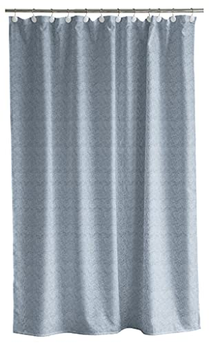 Södahl Chambray Duschvorhang 180x200 cm, Wasserabweisend, Chinablau