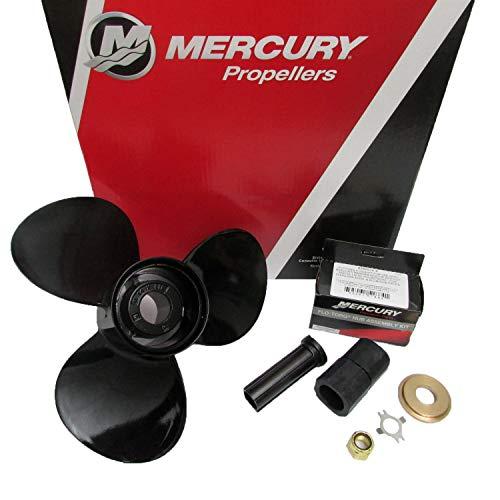 Mercury BlackMax 3 Blade Aluminum Pontoon Propeller 14 x 13P Cup 48-77340CP1
