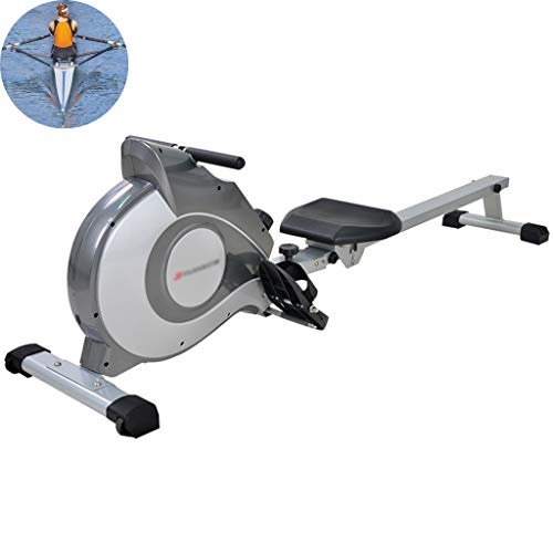 Read About ECHOV Foldable Rower ,Household Magnetic Control Rowing Machine, Indoor Mute Rowing Mac...