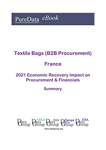 Textile Bags (B2B Procurement) France Summary: 2021 Economic Recovery Impact on Revenues & Financials (English Edition)