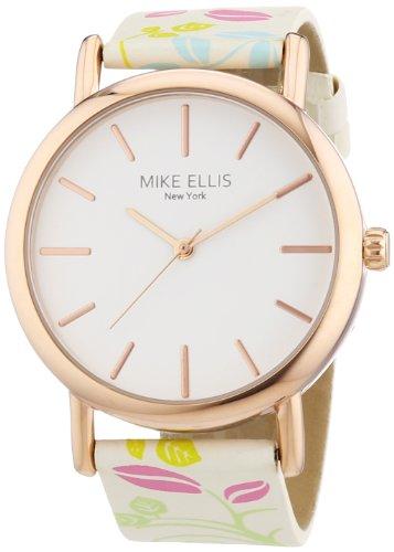 Mike Ellis New York L2979 - Reloj de Pulsera Mujer, Piel, Color Multicolor