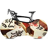 Sweet-Heart Bicycle Wheel Cover, Durable Scratch-Proof Protect Gear Tire Bike Cover - Natural