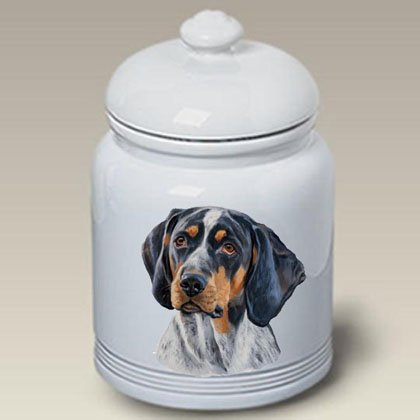 Find Bargain Best of Breed Blue Tick - Linda Picken Treat Jar