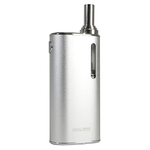 Eleaf iStick Basic Kit 2300 mAh mit GS Air 2 Clearomizer 2 ml, Riccardo All-in-One e-Zigarette, silber