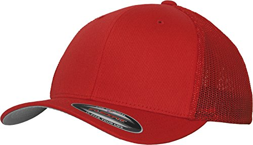 Flexfit Flexfit Mesh Trucker Kappe, rot (Red), S/M