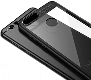 Huawei Honor 7x IPAKY Hybrid Bumper case cover - Black.