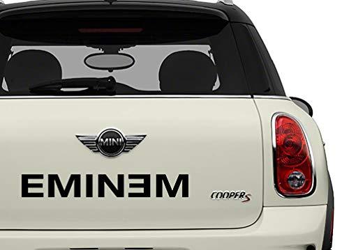 Eminem Black Bands Automotive Decal/Bumper Sticker