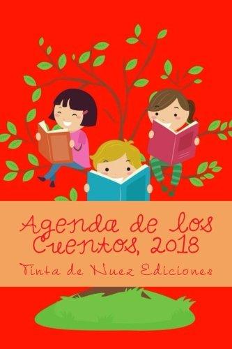 Agenda de Los Cuentos, 2018 (Roja, L, Blanco Y Negro)