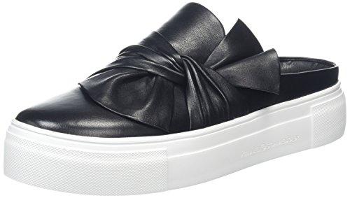 Kennel und Schmenger Damen Big Slip On Sneaker, Schwarz (Schwarz Sohle Weiß), 41 EU