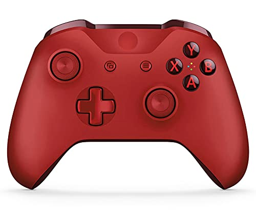 JORREP Xbox Controller Wireless for All Xbox One Models, Series X/S Consoles, PC Windows 7/8/10, Video Game Controller with Audio Jack - Red