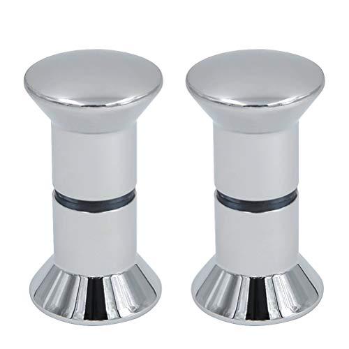 N\A - Pomo de puerta de ducha de acero inoxidable para puerta de ducha, 2 unidades