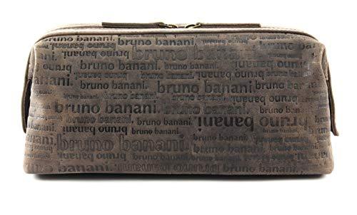Bruno Banani Trousse de Toilette ou pour Les cosmétiques. All Over Homme, Femme Cuir véritable