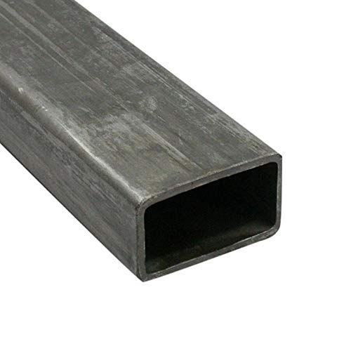 Barra rettangolo scatolato in ferro grezzo (80x40x2x3000 mm)
