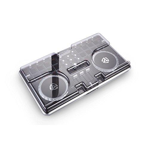 DeckSaver Mixtrack Pro 2 Schutzdeckel für DJ/VJ-Equipment, unzerbrechlich, Grau