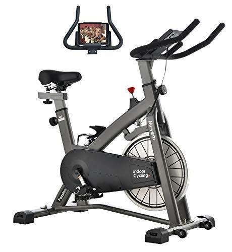 MEVEM Indoor Cycling Bike with Bike-Belt Drive