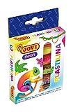 Jovi Bandeja de 6 Pastillas de plastilina, 50 Gramos, Colores Neon (90/6F) (1)