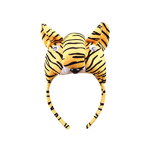 2Pcs Kids Party Funny Party Party Toy Tiger Chapeaux Enfants Chapeaux