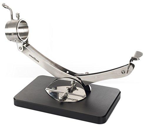 Jamonero Articulado Giratorio 360 Inox Negro Steelblade - Soporte Jamonero