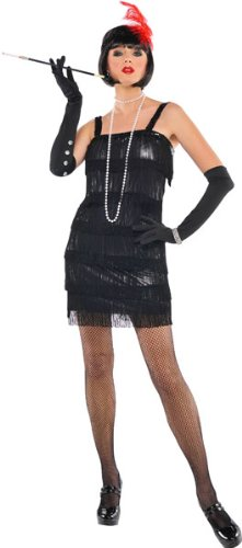 Amscan International Adultes Flashy garçonne Costumes (UK 14–16)