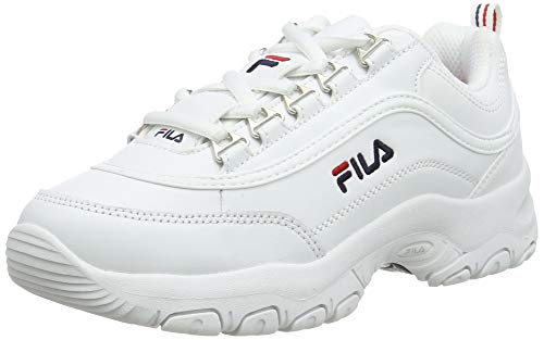 FILA Strada kids zapatilla Unisex niños, blanco (White), 34 EU