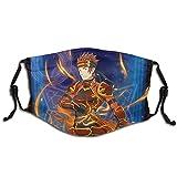 Sword Art Online Klein Face Shield Unisex al aire libre múltiples conjuntos máscara de polvo...