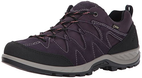 Ecco ECCO Damen Yura Outdoor Fitnessschuhe, Schwarz (Black/Night Shade), 38 EU