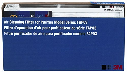 professional 3M FAPF03-4 Filtrete Ultra Clean Air Purifier Replacement Filter
