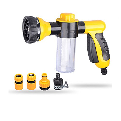 Eogro Car Foam Sprayer Cannon Wash Gun, Garden Hose Nozzle,8 Adjustable...