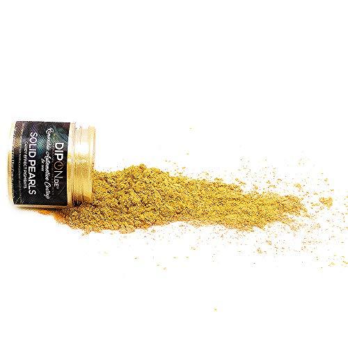 Epoxidharz Farbpigmente Brillant Gold Pearl für Giessharz Beton Seifenfarbe Farbpulver Nail Art UV Gel Autolack Flüssiggummi mit Metallic Perlglanz Effekt Mica Schimmer Pulver Pigmente (5 Gramm)