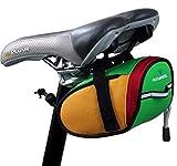 Sac de vélo de Montagne à Cheval, coloré Queue Rat Esprit vélo Sac/Sac à Outils Sac Queue Activités de Plein air Équitation,Vert