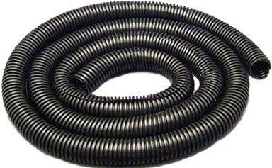 "Drossbach KITBAG034 Black Corrugated Tubing / Split Loom 3/4"" x 6'"