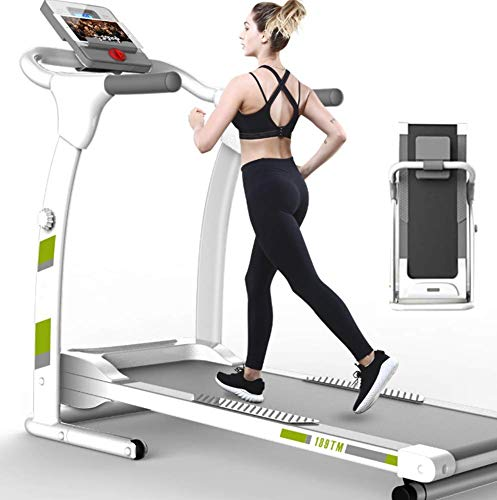 Cinta de correr Máquina de caminata plegable Ajuste de la pendiente eléctrica-...