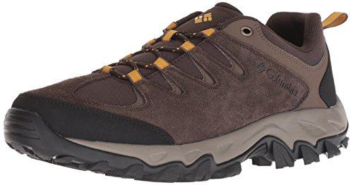 Columbia Buxton Peak - Zapatillas de Senderismo para Hombre, Cordovan, Squash, 13 US