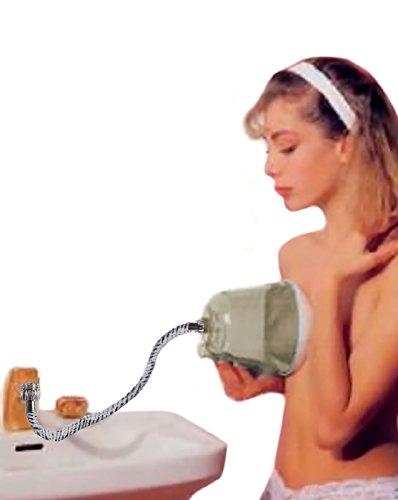 HIDRO Seno Doccia per Massaggio del Seno con Getto d\'Acqua Rotante, Massaggiatore per Seno, Idromassaggiatore per Seno, Idromassaggio Rassodante per Seno