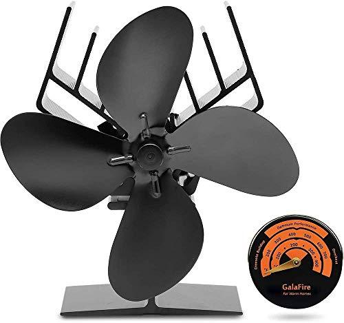 GALAFIRE 2019 Nuevo Diseño Ventilador de Estufa Accionado